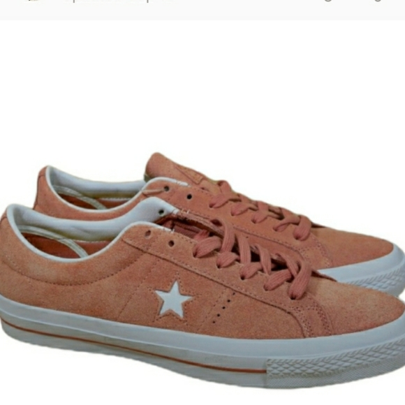 """Converse One Star Suede OX """"Pink Blush"""" NEW"""